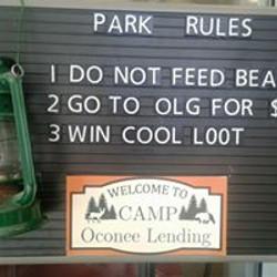 Camp OLG Park Rules