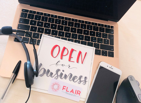 Covid-19 crisis: Flair is open for business
