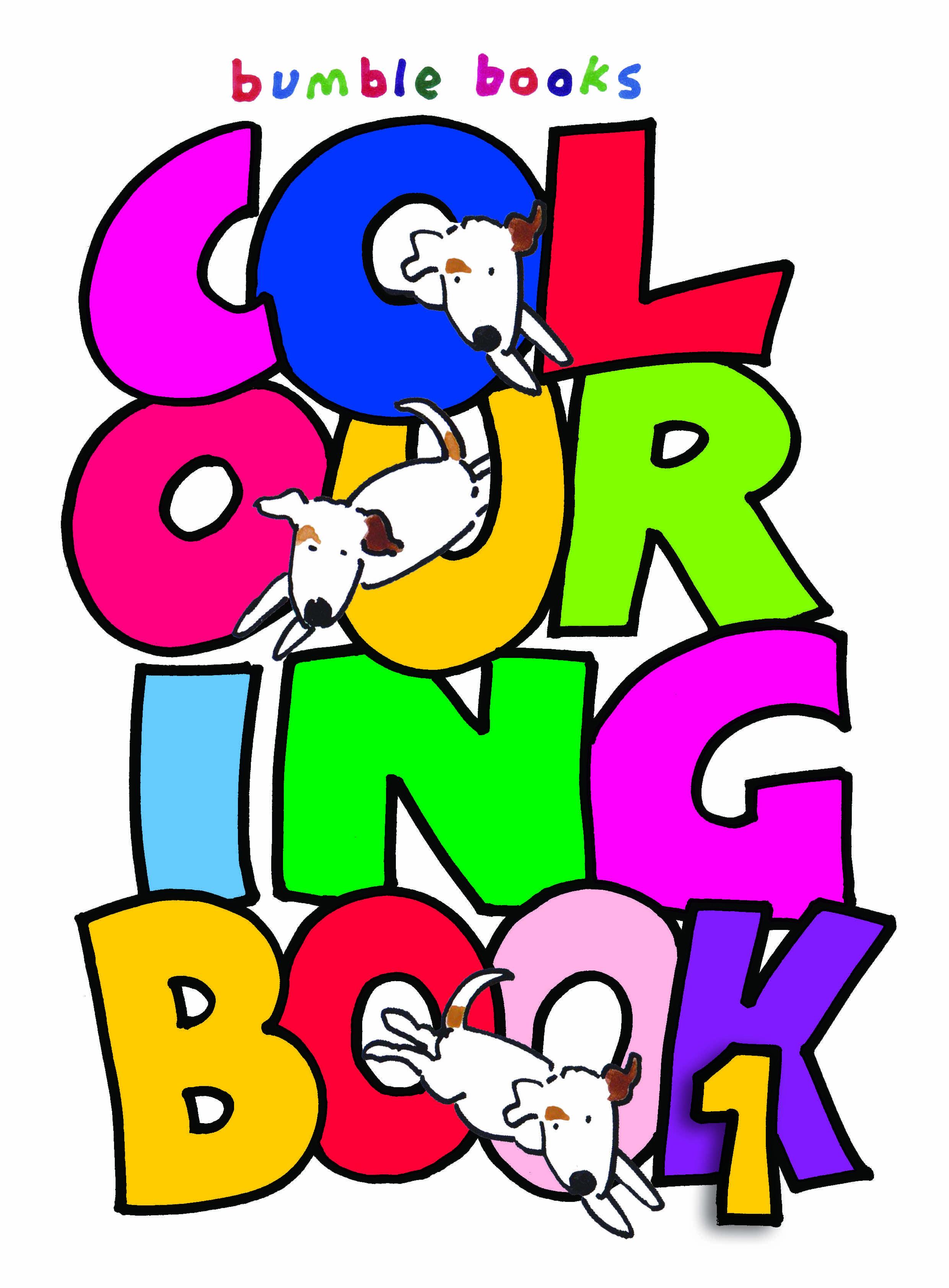 Bumble Book Club Colouring Book