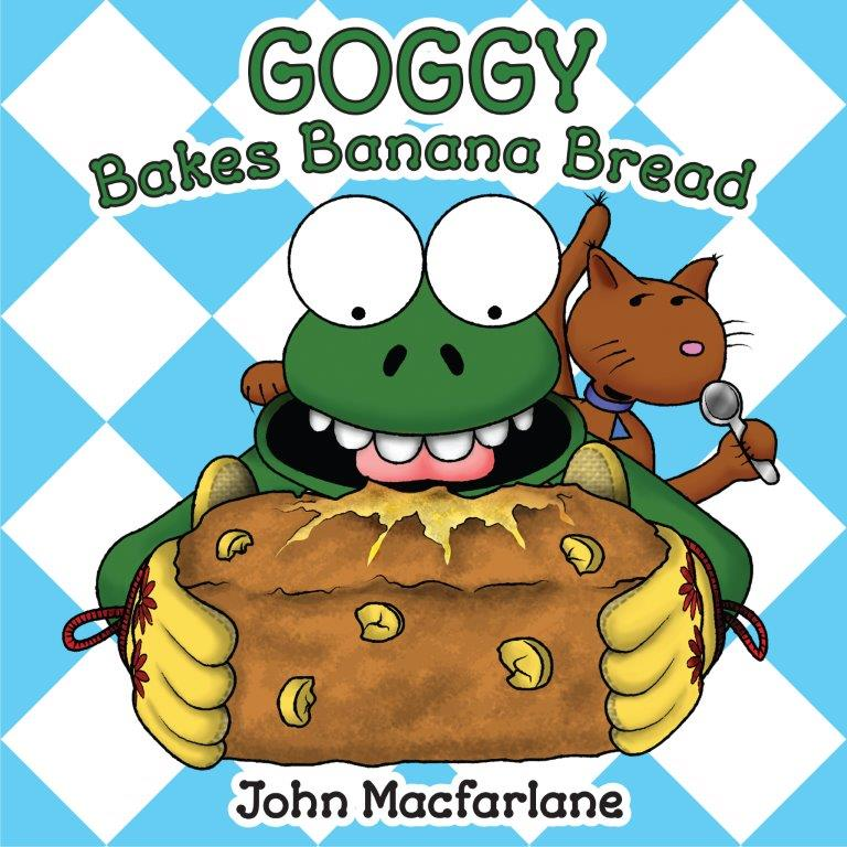 Goggy Bakes Banana Bread