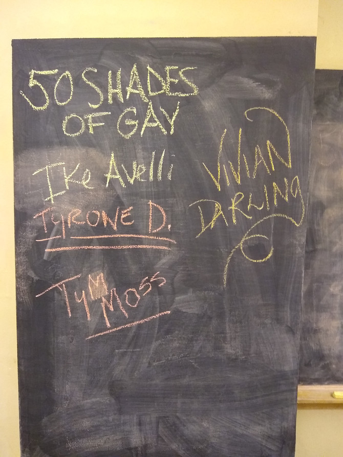 50 Shades of Gay Tour