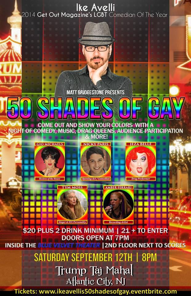 Atlantic City/50 Shades of Gay FAQ