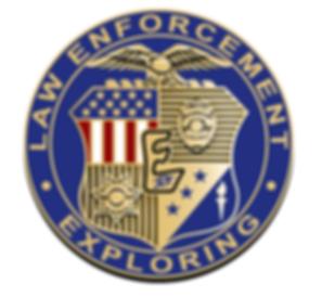 Explorer's Post Law Enforcement Challenge Coin