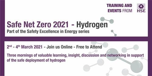 Stopford to speak at the HSE 'Safe Net Zero 2021' – Hydrogen Event