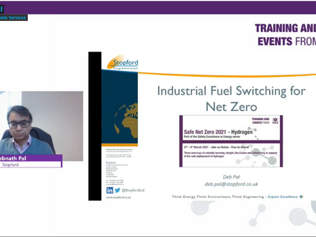 Watch Again - Stopford at HSE's Safe Net Zero Hydrogen Event