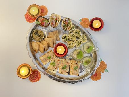 Diwali Miniature Snack Platter