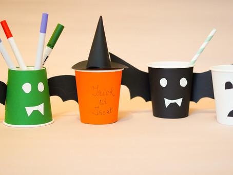 4 Halloween Paper Cup Craft Ideas