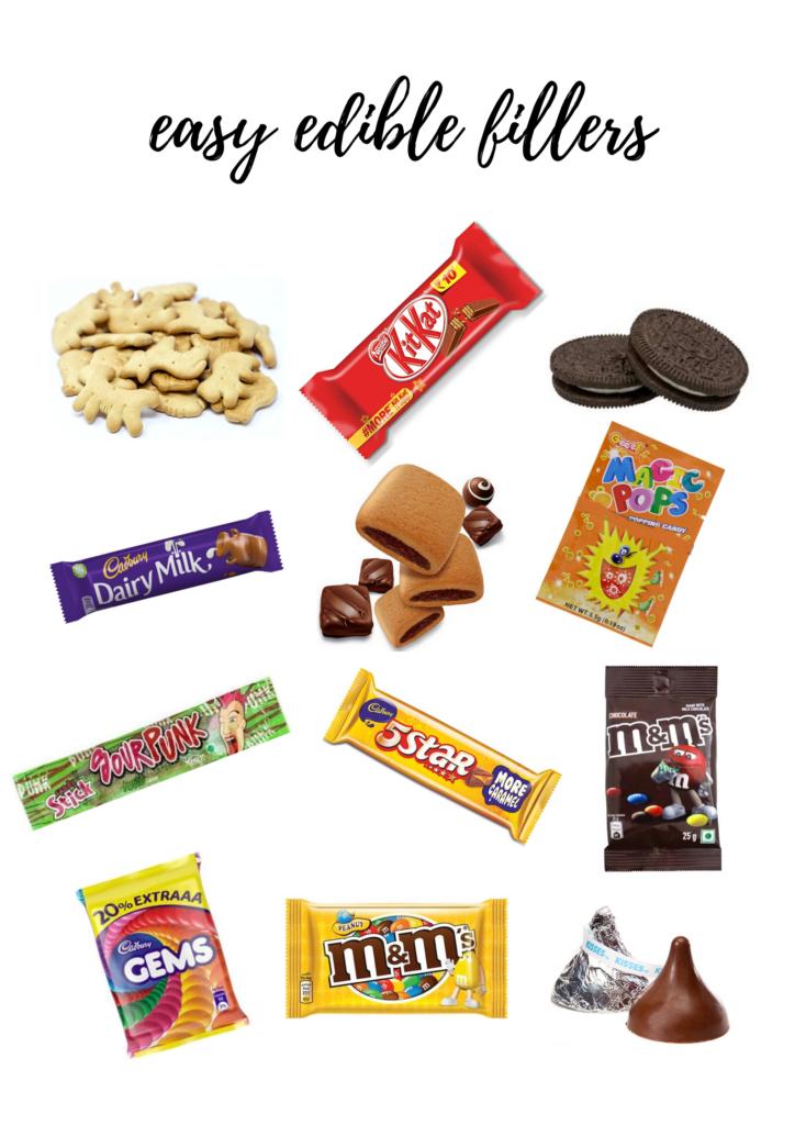 edible advent calendar filler ideas
