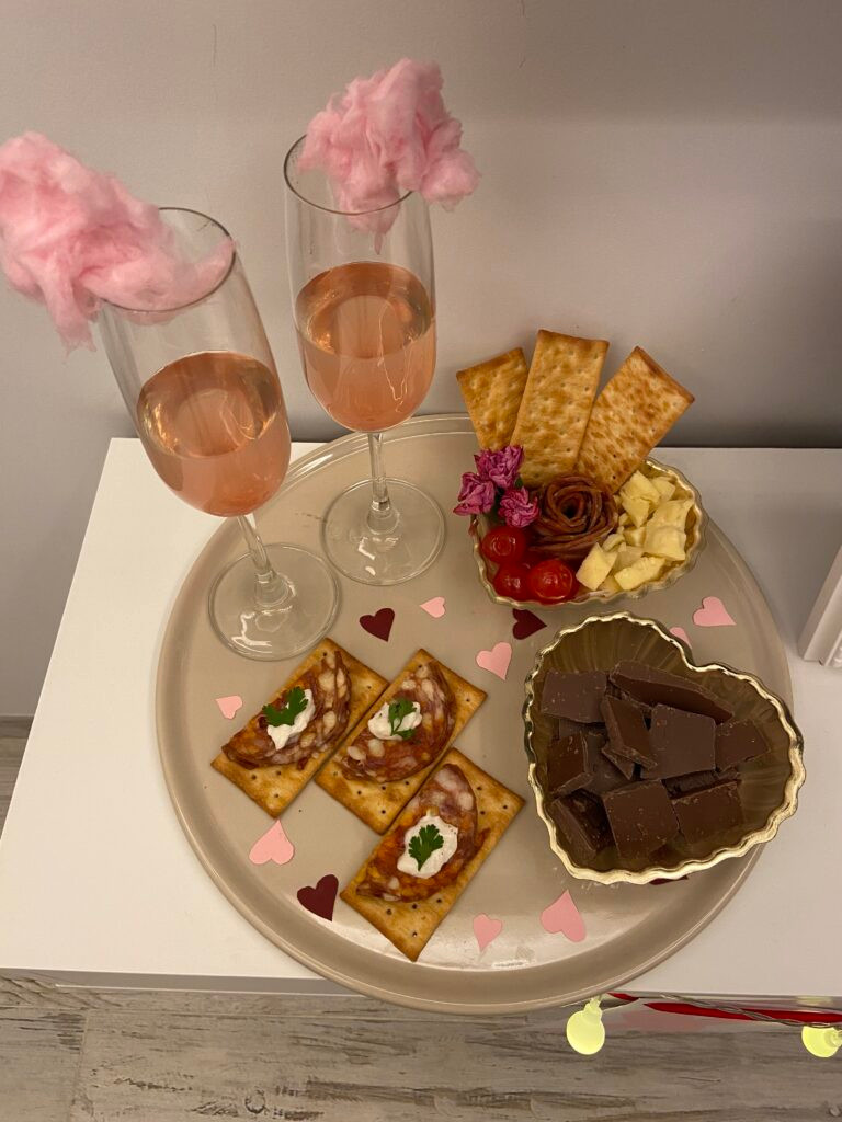 Valentine's Day food and drink