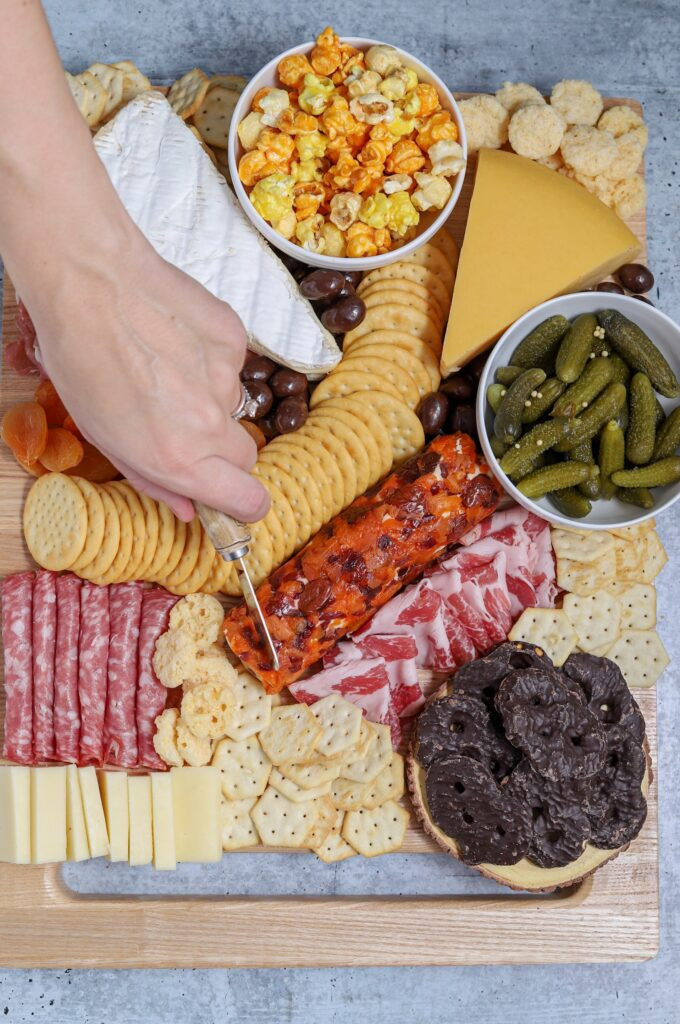 Cheese platter/cheese board