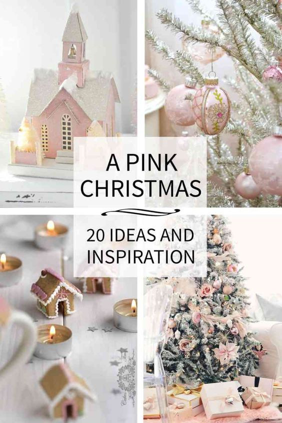 A pink christmas decorating ideas