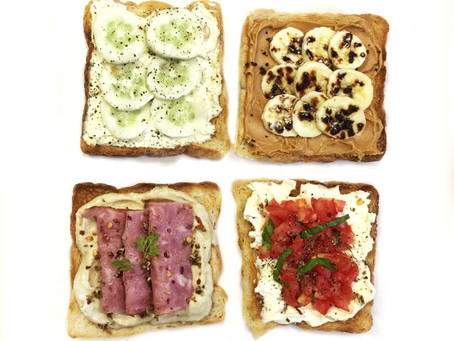 4 Toast Topping Ideas