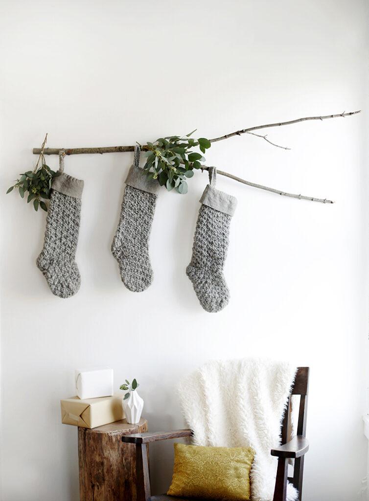 hanging christmas stockings