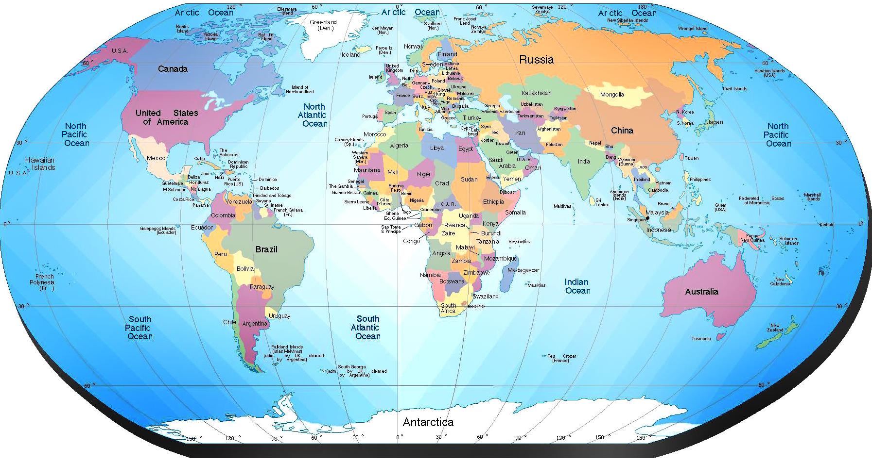 Mapa-Politico-del-Mundo