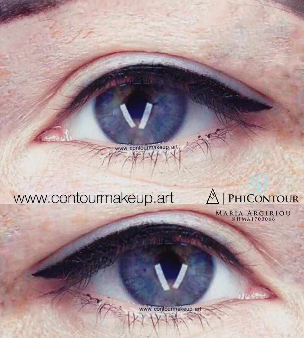Dekorativer Eyeliner