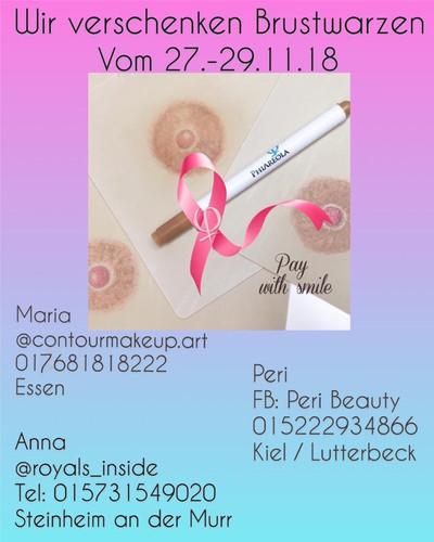 und sich deutschlandweit Frauen meldeten, sodass ich um Unterstützung durch Peri und Anna bat..