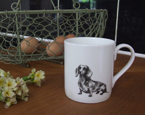 Hattie - Fine Bone China Mug SALE