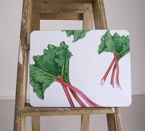 Rhubarb Serving Mat
