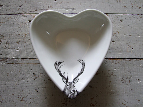 Rowan Heart Bowl - small