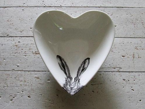 Slight second Clover Heart Bowl - medium
