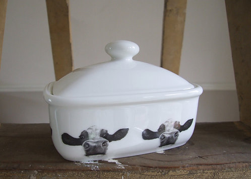 Beau- Covered Butter Dish