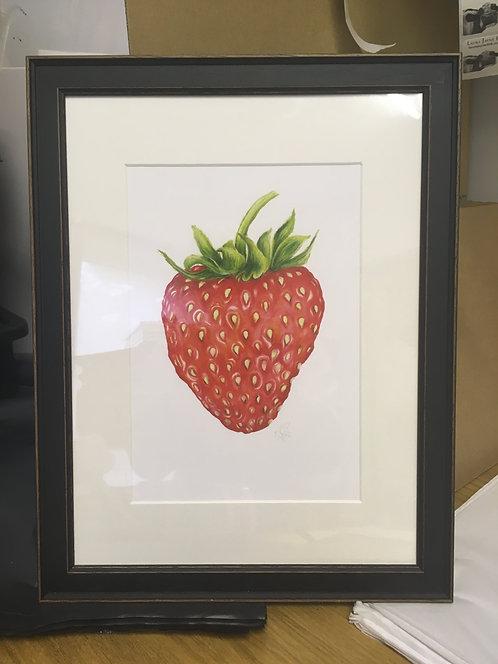 Framed Strawberry SALE