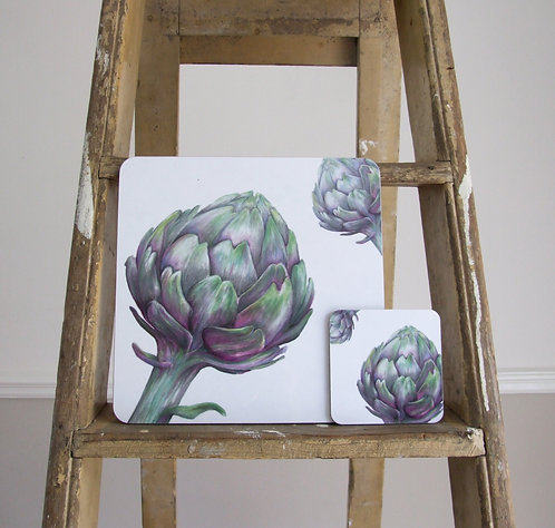Botanical Melamine Coaster Set x 6