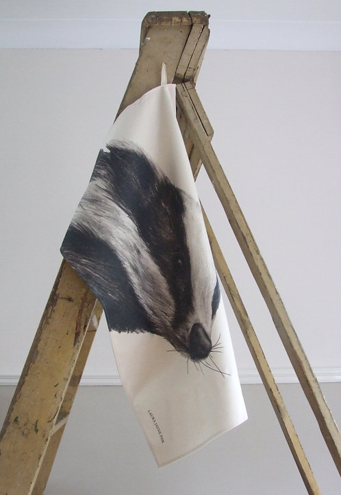 Burghley Tea Towel