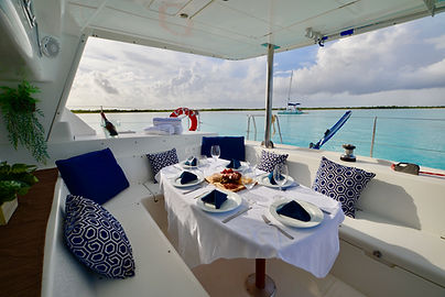 Sailing + Dining, Calypso Charters