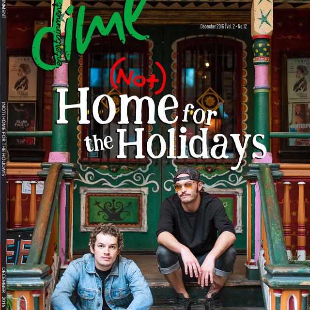 Cover Photo: Cherub in DIME Entertainment Mag (Print)