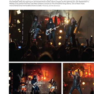 Photos: Motley Crue in DIME Entertainment Mag (Print)