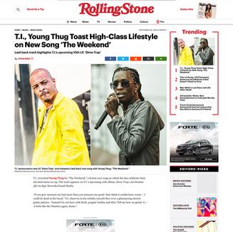Photo: TI on RollingStone.com