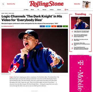 Photo: Logic on RollingStone.com