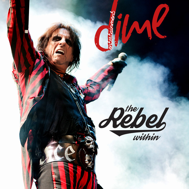 Cover Photo: Alice Cooper in DIME Entertainment Mag (Print)