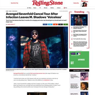 Photo: Avenged Sevenfold on RollingStone.com