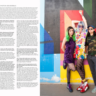 Photo + Interview: Potty Mouth in DIME Entertainment Mag (Print)