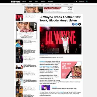 Photo: Lil Wayne on Billboard.com