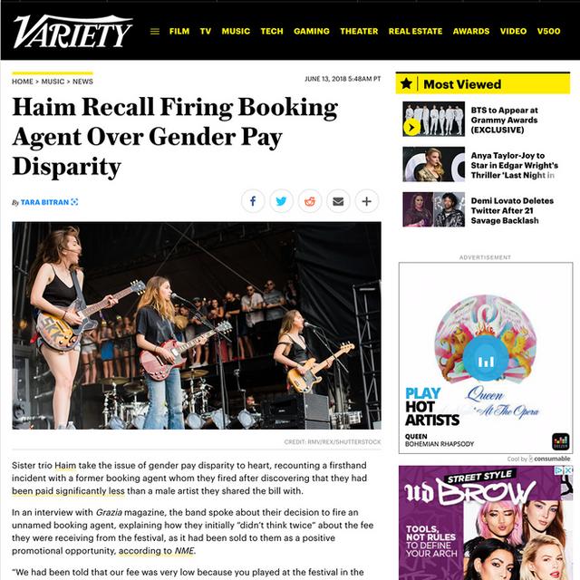 Haim- Variety.com
