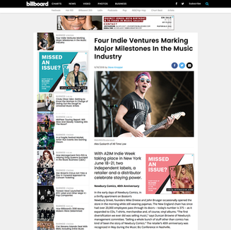 Photo: All Time Low on Billboard.com and Print