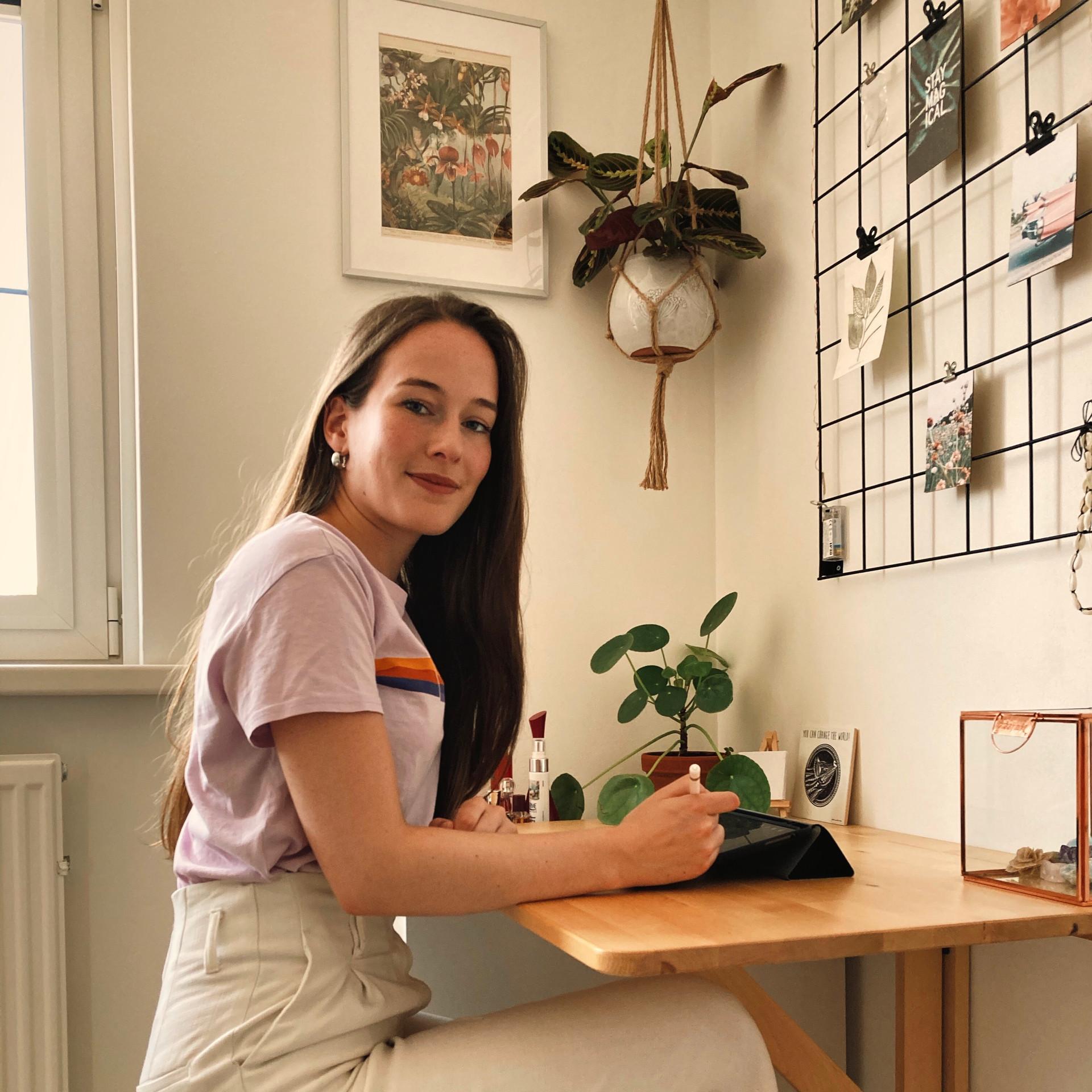 Zanna van Vugt Workspace