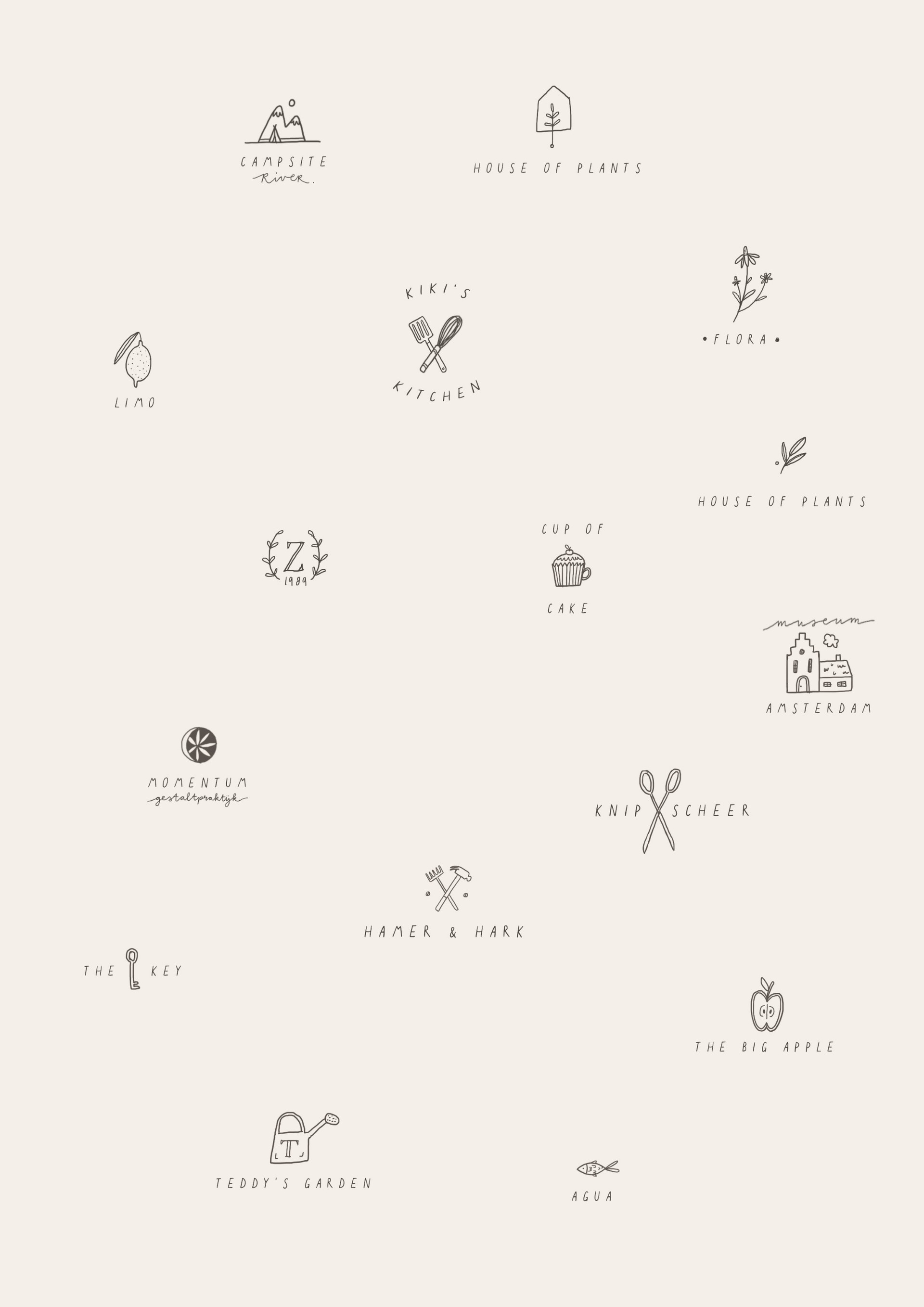 Illustrated Logo Concepts