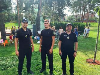 Поліція та муніципальна варта забезпечили громадський порядок під час масових заходів у вихідні дні