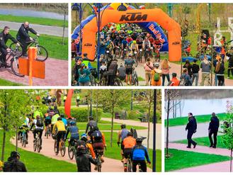 Муніципальна варта Ірпеня допомагала в проведені  велоперегонів «GRVL200 – Ірпінь 2021»