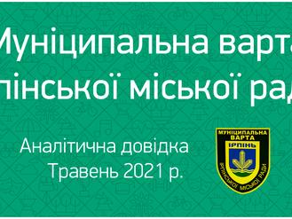 Травень 2021. Аналітична довідка