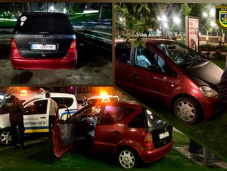 «Зелене паркування». Власникові автомобіля за наїзд на газон доведеться сплатити штраф