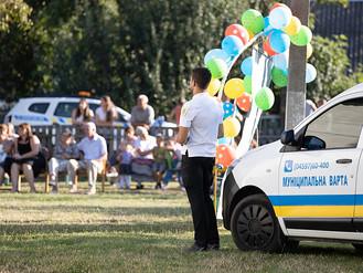 Муніципальна варта забезпечила громадський порядок на святкуванні Дня села Діброва