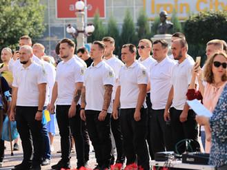Муніципальна варта була задіяна в загальноміських заходах з нагоди 30-ї річниці незалежності України