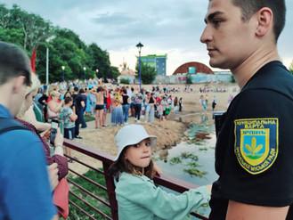 Муніципальна варта забезпечила громадський порядок під час традиційних гулянь в ніч на Івана Купала