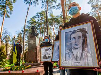 Шануймо світлу пам'ять ліквідаторів аварії на Чорнобильській АЕС