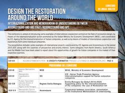 Progettare il restauro ferrara 23.04.2017
